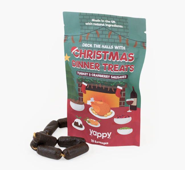 Christmas Diner Dog Treats for your German Shorthaired Pointer