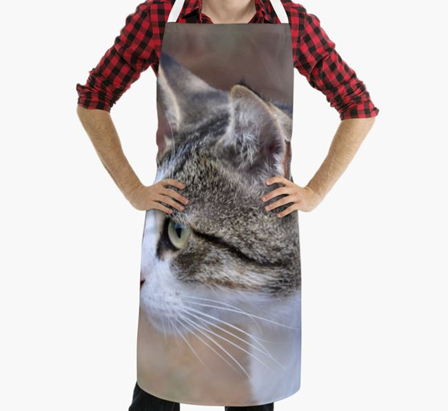 Personalised Apron with Photo of your Cat