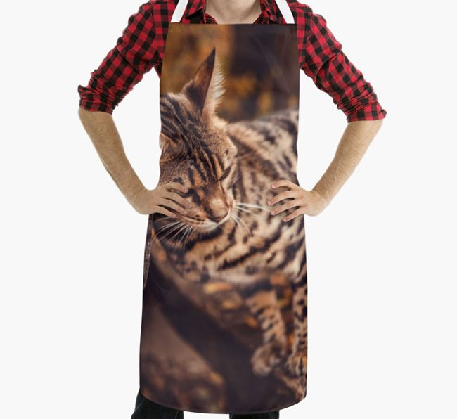 Personalized Apron with Photo of your Bengal