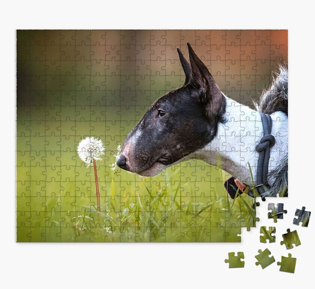 Photo Upload Jigsaw Puzzle - Personalized for your Bull Terrier