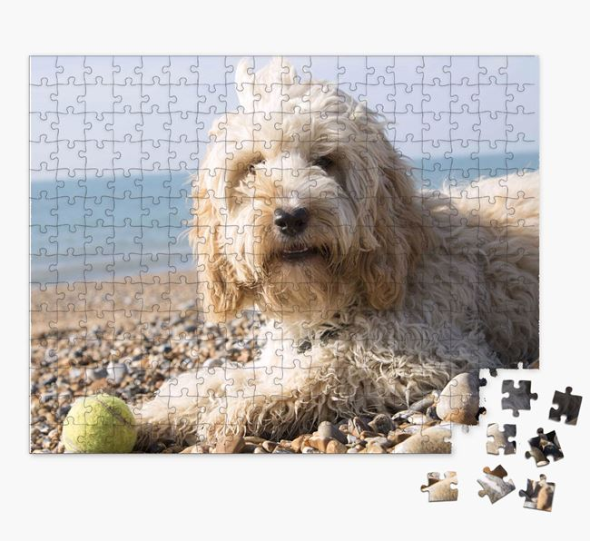 Photo Upload Jigsaw Puzzle - Personalized for your Cockapoo