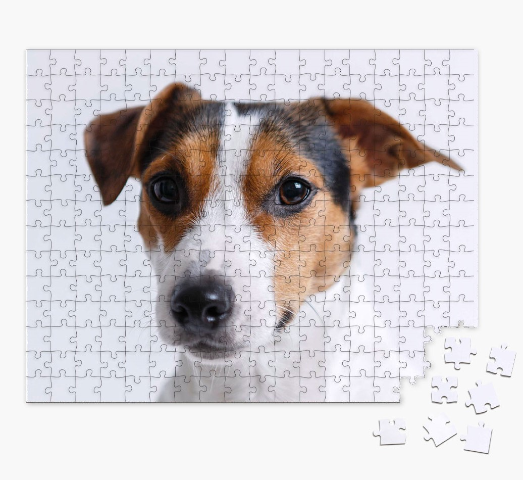 Photo Upload Jigsaw Puzzle for your Dog