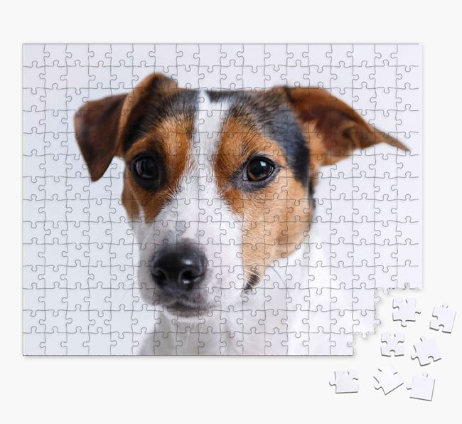 Photo Upload Jigsaw Puzzle - Personalized for your Jack Russell Terrier