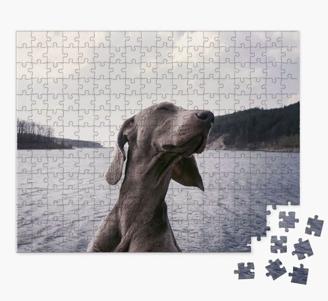 Photo Upload Jigsaw Puzzle - Personalized for your Dog