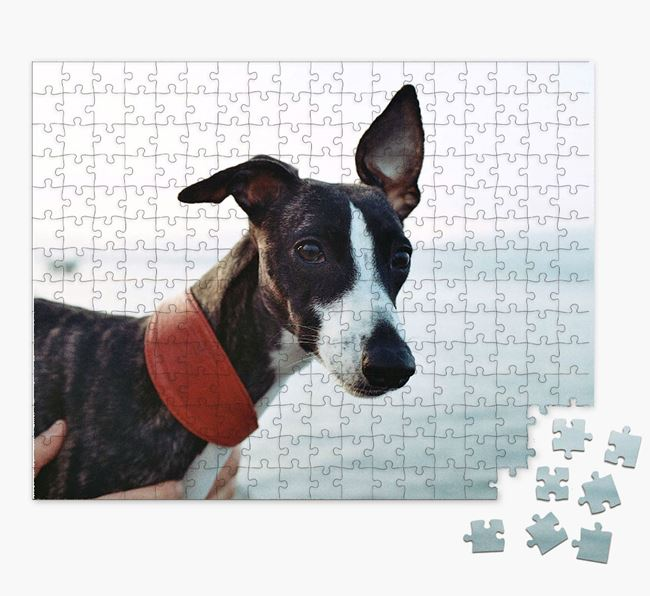 Photo Upload Jigsaw Puzzle - Personalized for your Whippet
