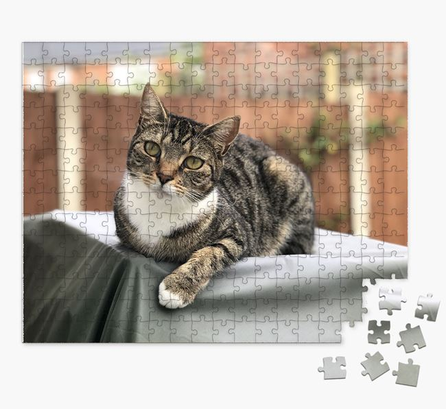 Photo Upload Jigsaw Puzzle - Personalized for your Cat