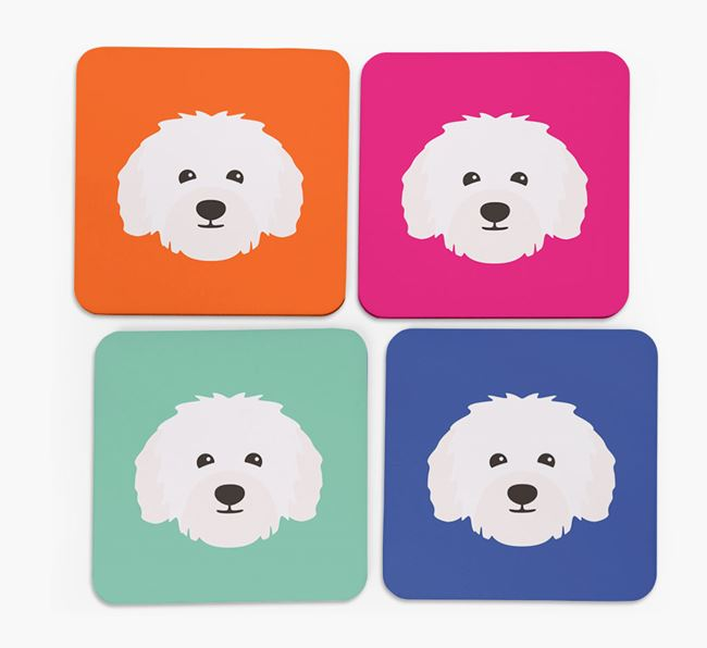 Bolognese Icon Coasters 4 pack