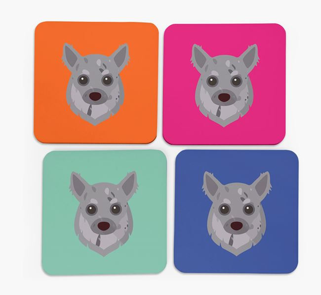Chihuahua Icon Coasters 4 pack