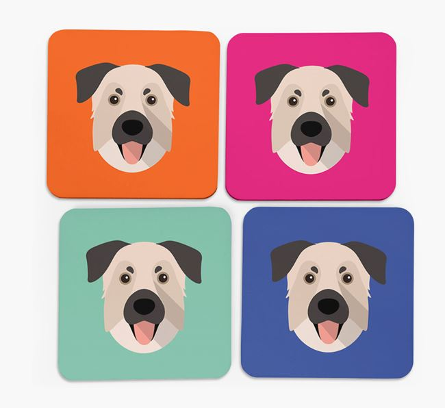 Chinook Icon Coasters 4 pack
