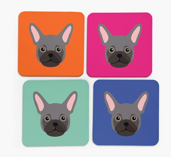 Frug Icon Coasters 4 pack