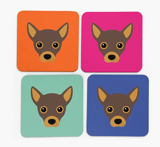 Jack Chi Icon Coasters 4 pack