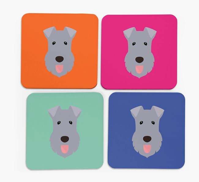 Kerry Blue Icon Coasters 4 pack