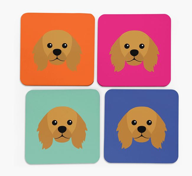 King Charles Icon Coasters 4 pack