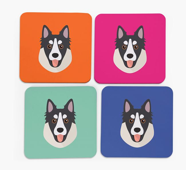 Northern Inuit Icon Coasters 4 pack