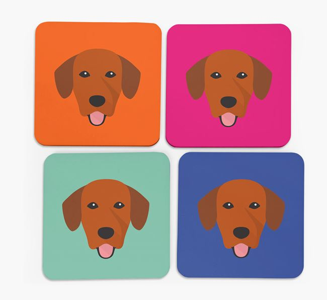 Springador Icon Coasters 4 pack