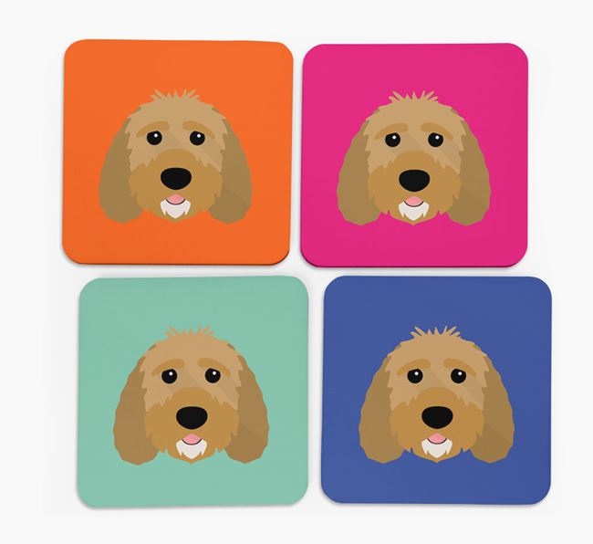 Sproodle Icon Coasters 4 pack