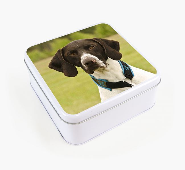 Photo Upload - Personalised German Shorthaired Pointer Treat Tin