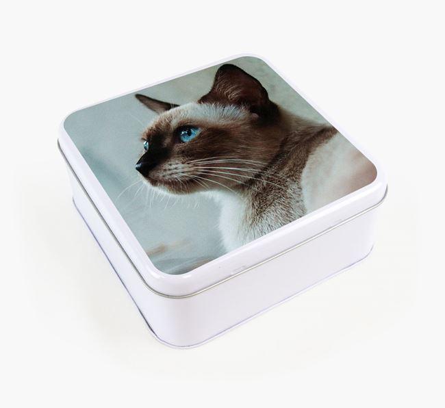 Photo Upload - Personalised Siamese Treat Tin