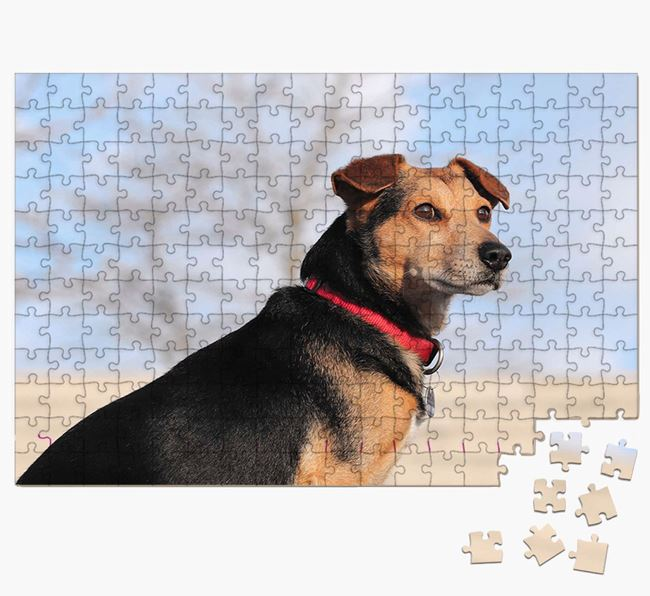 Photo Upload Jigsaw Puzzle - Personalised for your Bassador