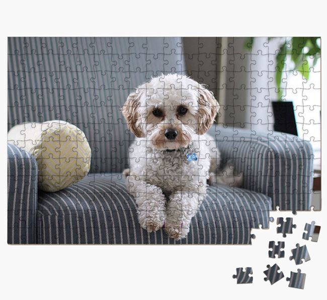 Photo Upload Jigsaw Puzzle - Personalised for your Cavapoo