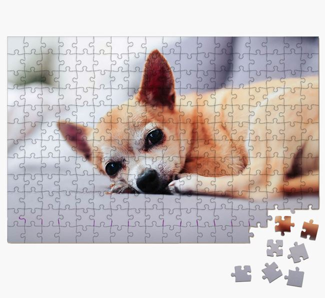 Photo Upload Jigsaw Puzzle - Personalised for your Chihuahua