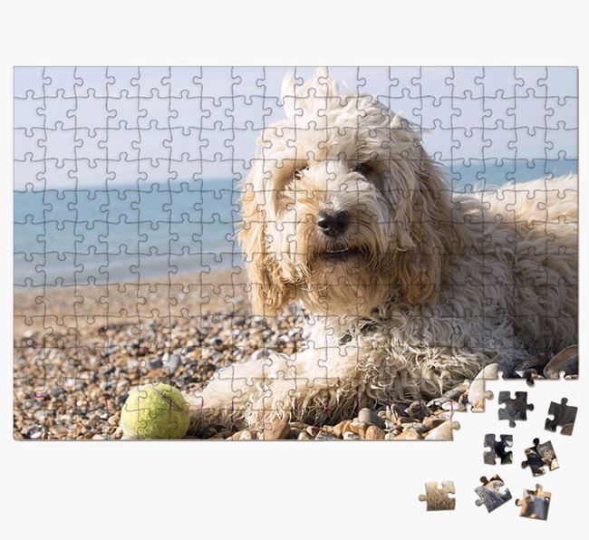Photo Upload Jigsaw Puzzle - Personalised for your Cockapoo