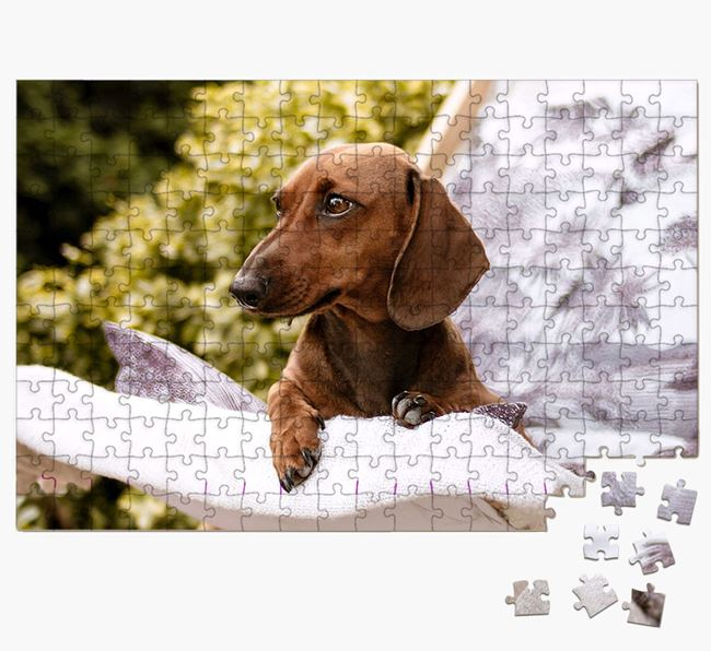 Photo Upload Jigsaw Puzzle - Personalised for your Dachshund