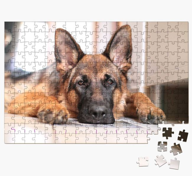 Photo Upload Jigsaw Puzzle - Personalised for your German Shepherd