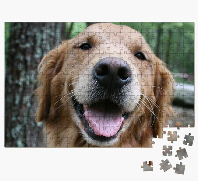 Photo Upload Jigsaw Puzzle - Personalised for your Golden Retriever