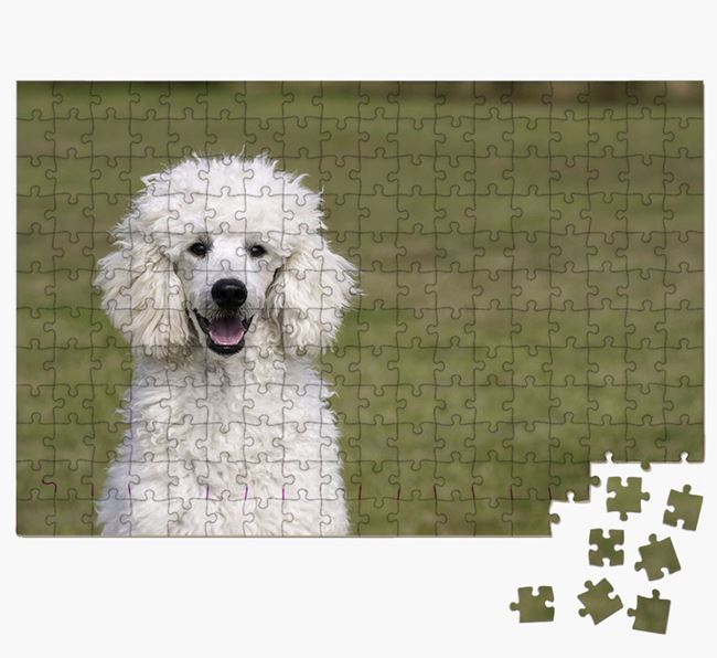 Photo Upload Jigsaw Puzzle - Personalised for your Poodle