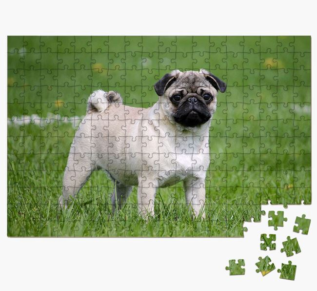 Photo Upload Jigsaw Puzzle - Personalised for your Pug