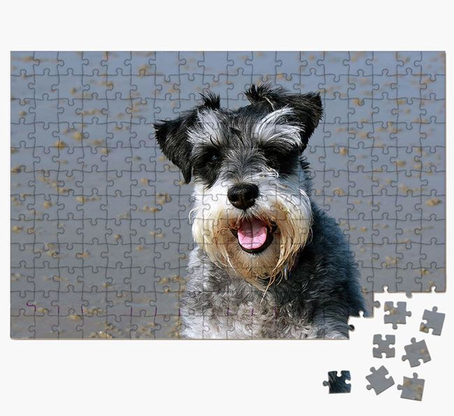 Photo Upload Jigsaw Puzzle - Personalised for your Schnauzer