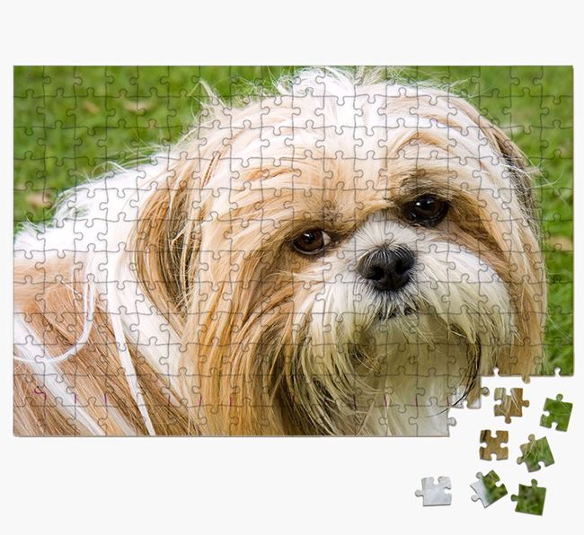 Photo Upload Jigsaw Puzzle - Personalised for your Shih Tzu