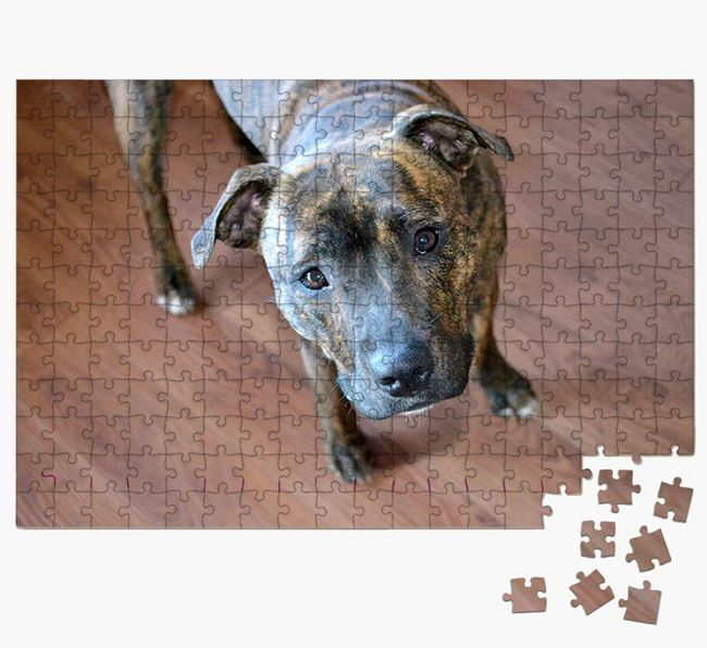 Photo Upload Jigsaw Puzzle - Personalised for your Staffordshire Bull Terrier
