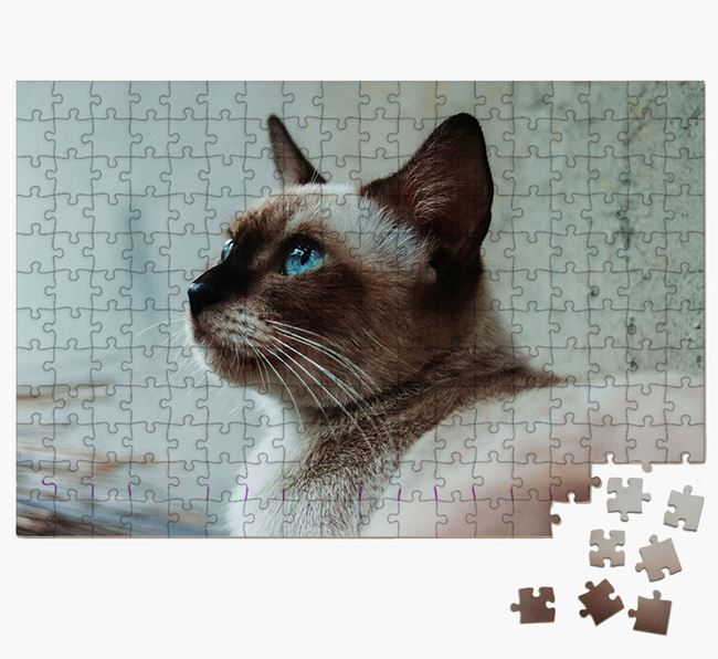 Photo Upload Jigsaw Puzzle - Personalised for your Siamese