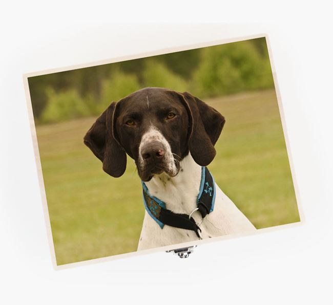 Personalised Photo Upload Wooden Box for your German Shorthaired Pointer