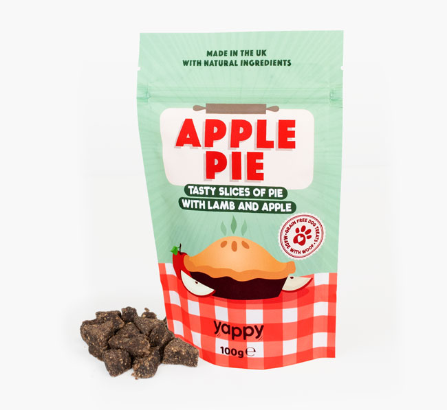 Apple Pie Dog Treats for your Bassador