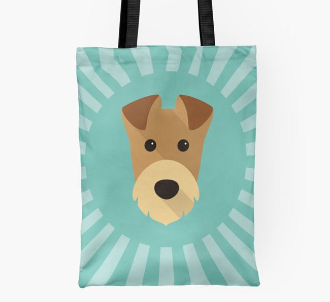 Airedale Icon Shopper Bag