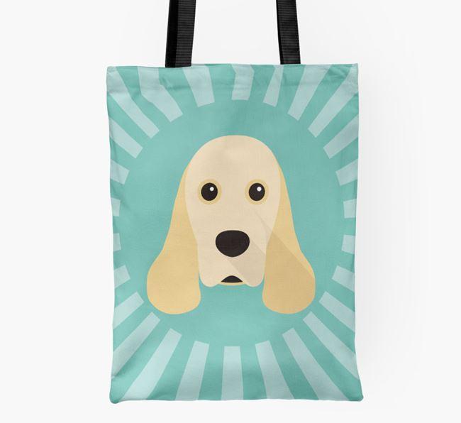 Cocker Spaniel Icon Shopper Bag