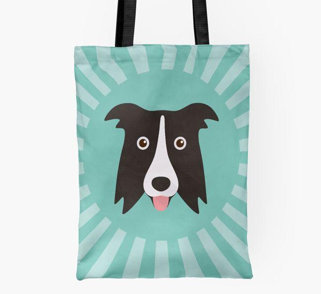 Border Collie Icon Shopper Bag