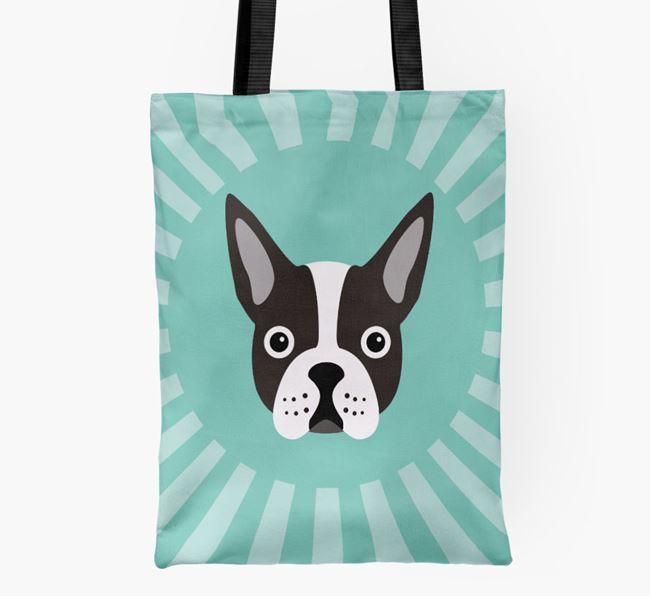 Boston Terrier Icon Shopper Bag