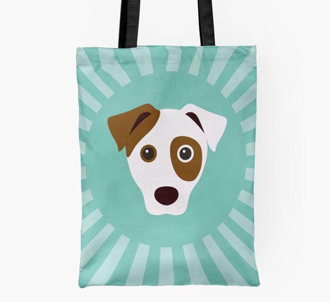 Dog Icon Shopper Bag
