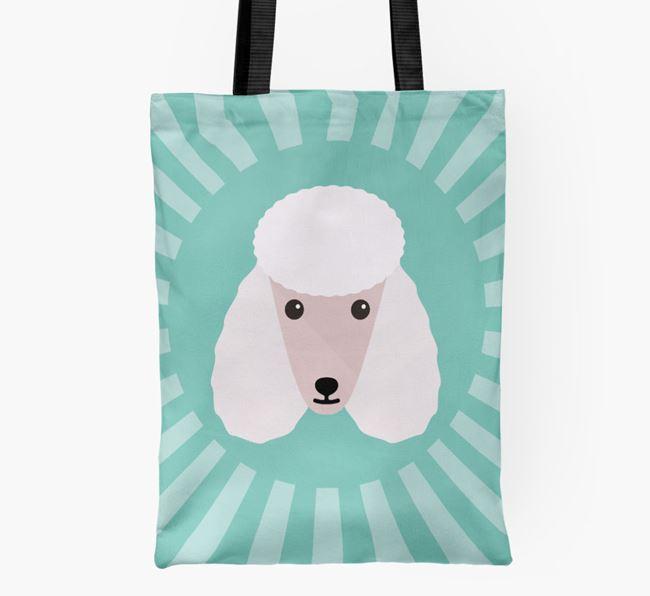 Poodle Icon Shopper Bag