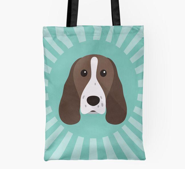 Springer Spaniel Icon Shopper Bag