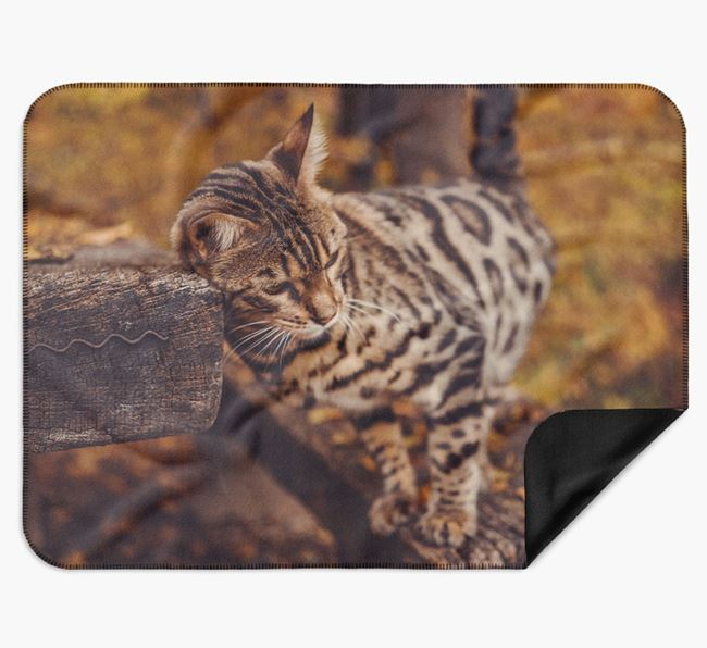 Photo Upload Blanket - Personalised for your Bengal