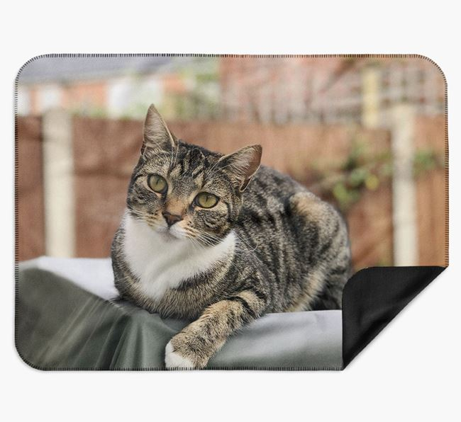Photo Upload Blanket - Personalised for your Cat