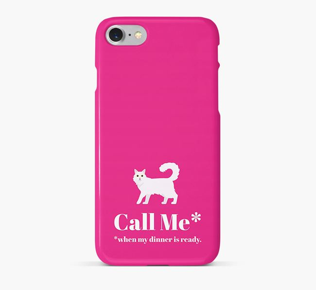 'Call Me..' - Personalized Cat Phone Case
