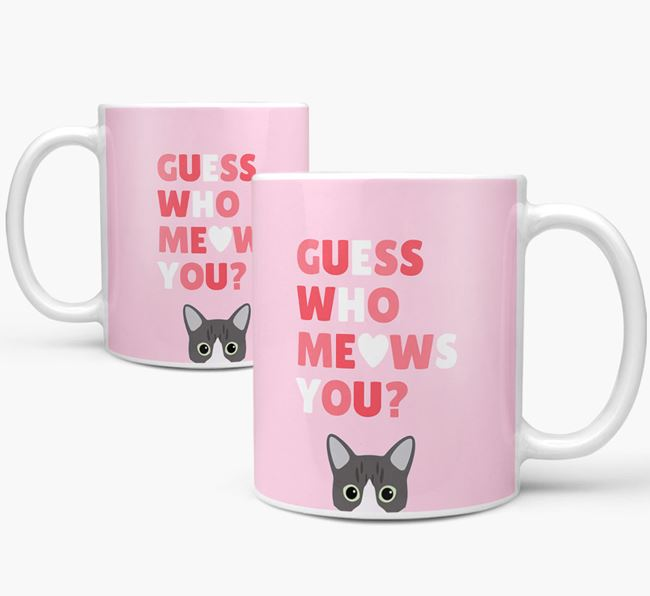 'Guess Who Meows You' - Personalized Cat Mug