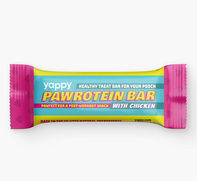 Pawrotein Treat Bar for your Bassador