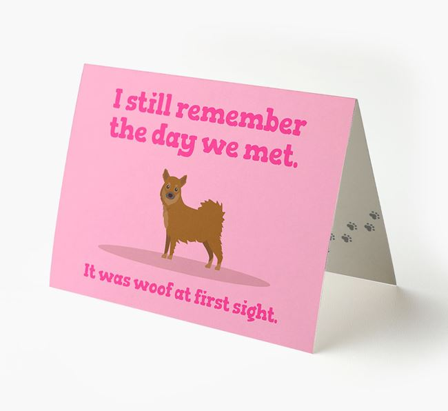 'The Day We Met' - Personalised Chihuahua Card